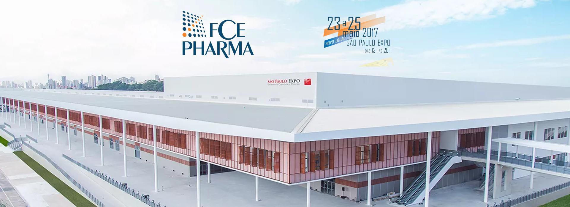 Estaremos presentes na FCE Pharma 2017!