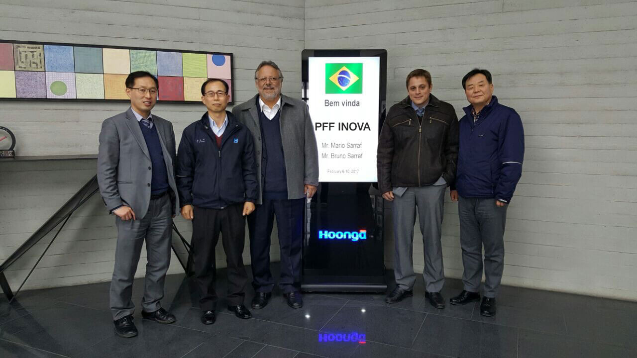 PFF Inova firma parceria com sul coreana Hoonga